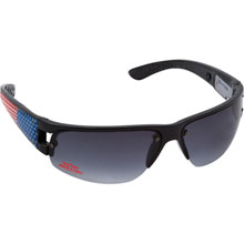 Blink Wrap II USA Sunglasses w/ Blinking USA Flag Lights