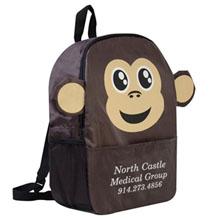 Paws N Claws Backpack - Monkey