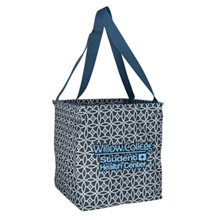 Small Printed Utility Tote - Sailing Compass