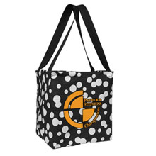 Small Printed Utility Tote - Bubble