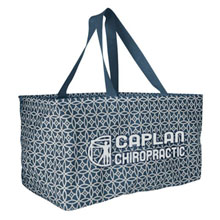 Large Printed Utility Tote - Sailing Compass