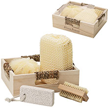 Four Piece Spa Kit in Box