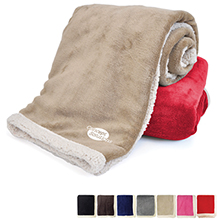 Deluxe Lambswool Lounge Throw