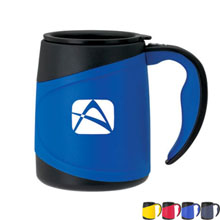 Biggs Double Wall Mug, 15oz. - Free Set Up Charges!