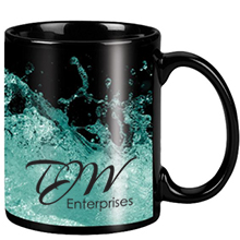 Classic Black Full Color Mug, 11oz.