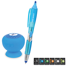 Bluetooth Speaker & Stylus Pen Set