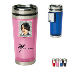 Bling Mirror Travel Tumbler, 16oz