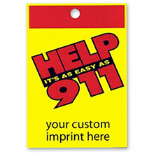 Help It's As Easy As 911 Custom Litterbag