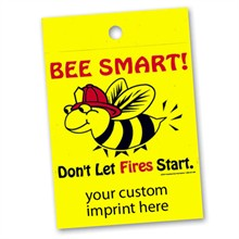 Custom Litterbag, Bee Smart! Don't Let Fires Start