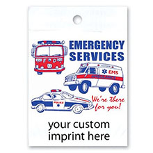 Emergency Services Custom Litterbag