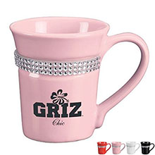 Bling Glamour Ceramic Mug, 12oz.