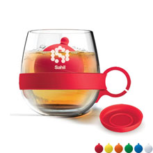 Glass Tea Ball Mug, 16.75oz. - Free Set Up Charges!
