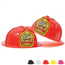 Fire Station Favorite Hat Yellow Shield Jr. Firefighter Design, Stock
