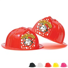Fire Station Favorite Hat Red Shield Dalmatian Jr. Firefighter Design, Stock