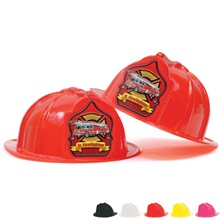 Fire Station Favorite Hat Red Shield Jr. Firefighter Design, Stock