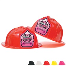 Fire Station Favorite Hat Pink Shield Jr. Firefighter Design, Stock