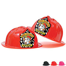 Fire Station Favorite Hat Black Dalmatian Design, Custom