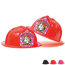 Fire station Favorite Hat Pink Dalmatian Design, Custom
