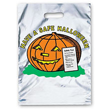 Reflective Halloween Bag - Silver, Jack Design