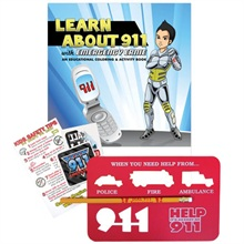 Learn About 911 Classroom Kit - Stock