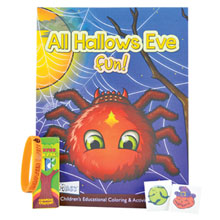 Halloween Coloring Book Combo Pack
