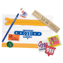 Call 9-1-1 Emergency Education School Kit, Stock