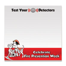 Test Your Detectors, 25 Sheet Sticky Pad