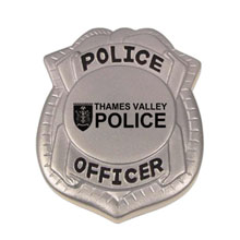 Police Badge Stress Reliever