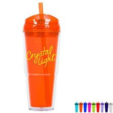 Dakota Double Wall Acrylic Tumbler, 22oz., BPA Free - Free Set Up Charges!