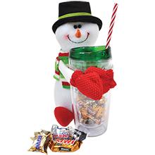 Snowman Gift Set w/ Mixed Mini Chocolates