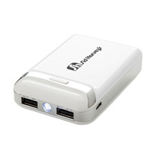 Dual Port Power Bank, 7800 mAh