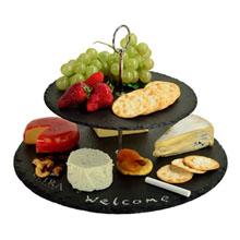 Serat Two Layer Slate Cheese Board