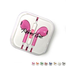 High Quality Color Stereo Ear Buds, 3.5mm