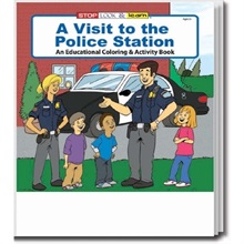 A Visit to the Police Station Coloring Book, Stock