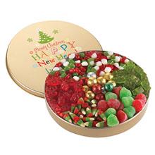 Christmas Candy Tin, Small