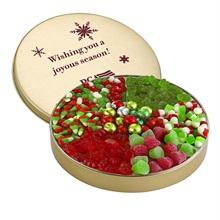 Christmas Candy Tin, Large