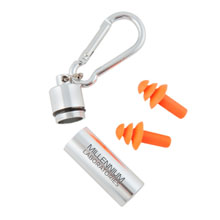Ear Plugs in Aluminum Canister
