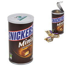 Mini Snickers Premium Gift Canister