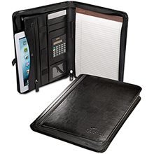 Alpha™ Zip-Around Portfolio w/ Tablet Case and Calculator