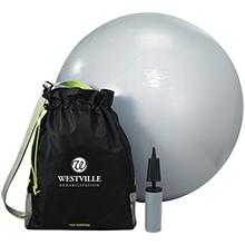 New Balance® Exercise Ball and Fitness Bag