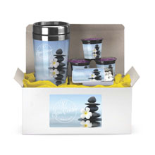 Full-Color Coffee Lover's Tumbler, Mints & Coffee Pod Gift Set