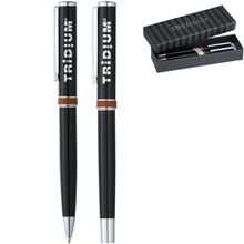 Field & Co.™ Ballpoint & Rollerball Pen Set