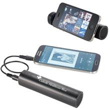 Zoom Pulse Speaker Phone Stand Power Bank, 3500mAh