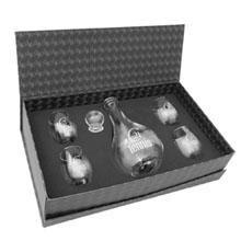 Five-Piece Loto Wine Carafe Set