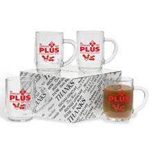 "Haworth ""Thank You"" Four-Mug Set"