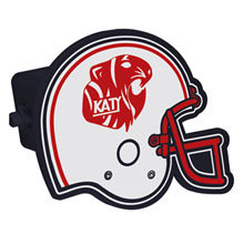 Football Helmet Trailer Hitch Cover