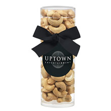 Elegant Small Gift Tube w/ Cashews
