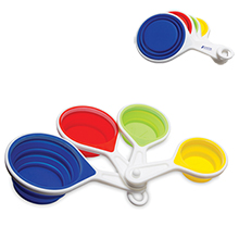 Collapsible Silicone Measuring Cups