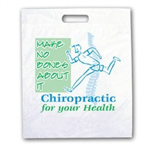 Chiropractic For Your Health Take Home Bag, Stock - On Sale, Closeout