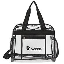 Clarity Clear PVC Messenger Bag